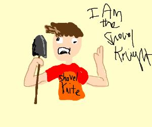 Bad shovel knight cosplay