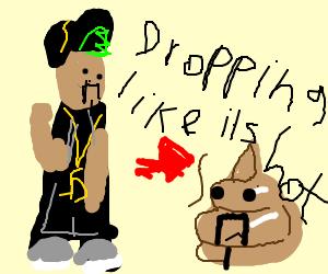Snoop dogg becomes poop blob