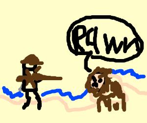Australians on a beach