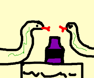 Snake Romance - Now with wine!