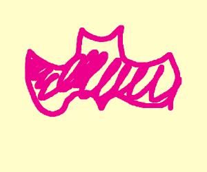 pink batman simbal
