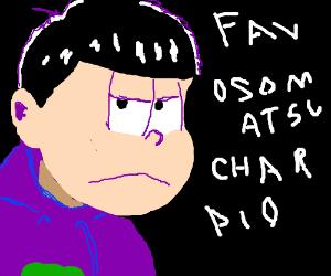 fav oso hatso san character pio