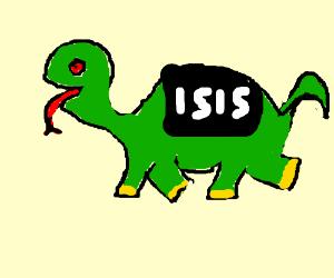 ISIS dinosaur