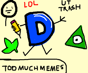 Drawception has been infected by memes