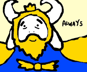 King Fluffybuns is always was always is always