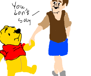 Nick Cage in Winnie the Pooh