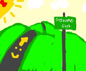 Happy Road To Sesame Street