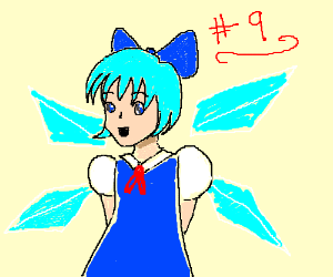 Cirno from Touhou