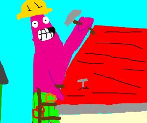 patrick star: best builder