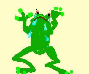 crying frog? I think?