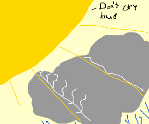 Good guy sun comforts raincloud best bro