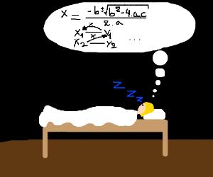 Dreams about math