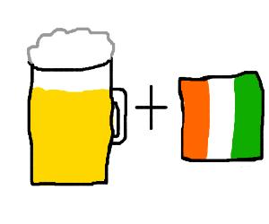 Drunk Irishman?
