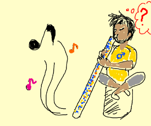Man Plays Didgeridoo Why?