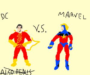 DC's Captain Marvel v. Marvel's Captain Marvel