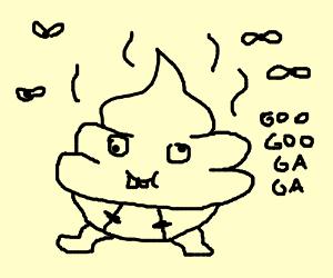 Baby poo