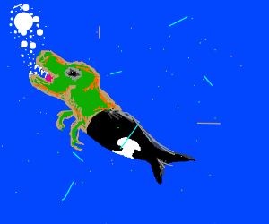 orca t-rex fusion