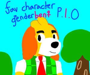 fav character from anything genderbent pio