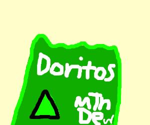 Doritos new flavor: Mtn Dew