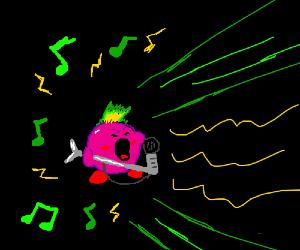 Kirby is a wonderful singer.
