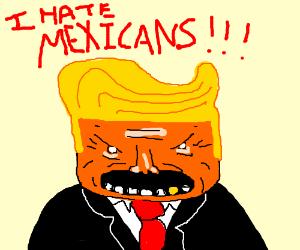 trump being racist