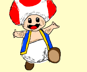 TOAD! (from Mario)