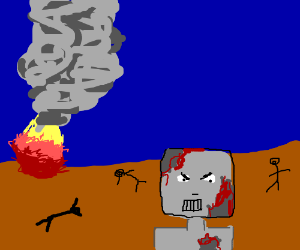 Post Apocalyptic Cyborg