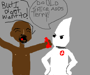 Terry Crews forced by KKK to do Old Spice ads