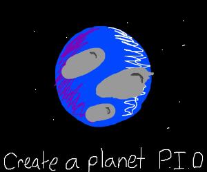 Create a planet PIO