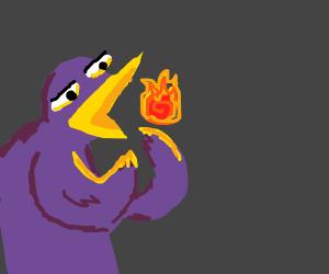 Fireball birb rewdy for acTIOON!,