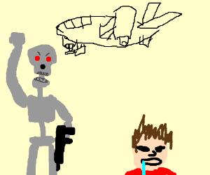 Skynet rules, John Conner drools