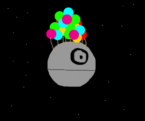 The movie Up but with the Death Star