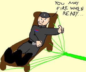 Death Star Deckchair