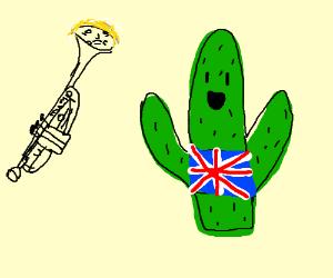 Donald Trumpet and a British Cactus (?)