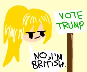 Vote for Trump. Make America great again.