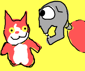 a mutated yokai watch soultimate thingy
