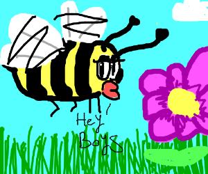 A Flirting Bee