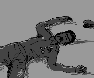 jofeph Stalin is either dead or sleeping