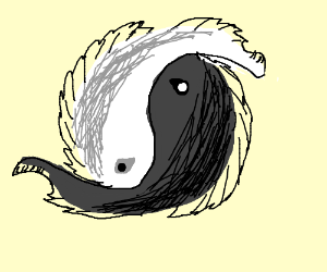 Pisces zodiac or homestuck 3 a black and a white fish form a yin yang sciox Gallery