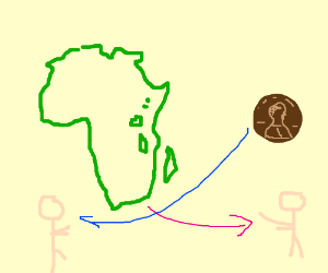 Africa is being sold for 1 cent