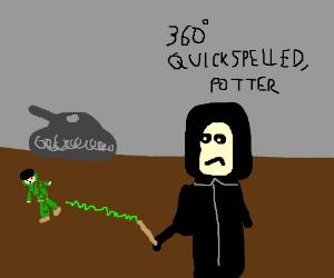 Severus Snape plays C.O.D.