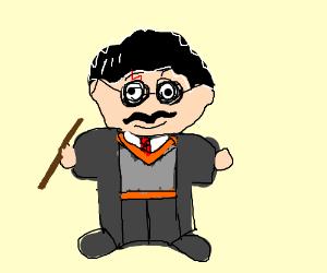 Harry Potter With A Moustache
