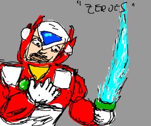 Zero (Mega Man) with 6 fingers
