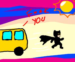 bus hates batman