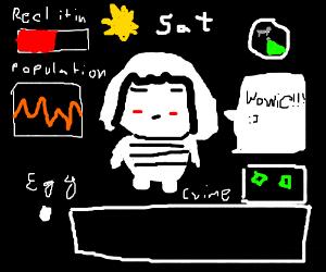 Draw whatever - Drawception