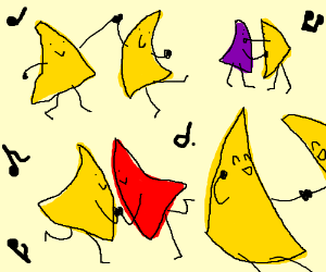 Tortilla Chips Drawing