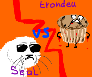 Seal versus trondeu the muffin