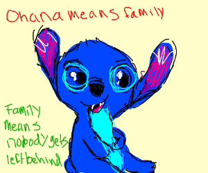 Stitch (From Lilo and Stitch)