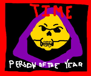 Skeletor is Time's 'Person of the Year.'