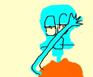 Squidward Dab Drawception